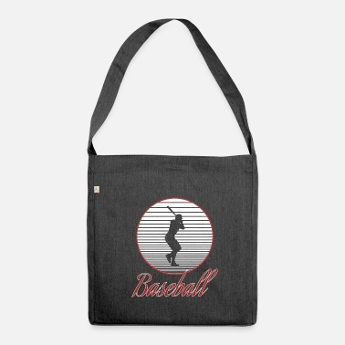 Baseball baseball - Borsa in materiale riciclato