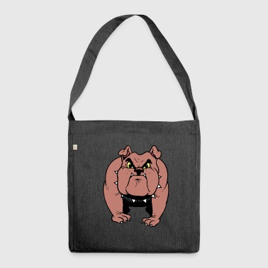 Bulldoge - Schultertasche aus Recycling-Material