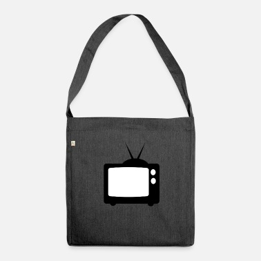 Tv TV - Shoulder Bag made from recycled material