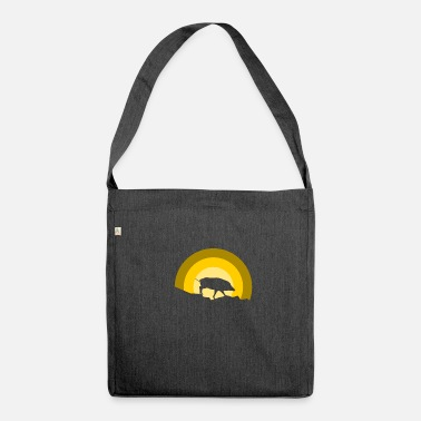 Boar Boar boar Boar - Shoulder Bag recycled