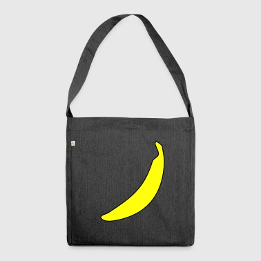 banana banana banana banana banana banana - Shoulder Bag made from recycled material