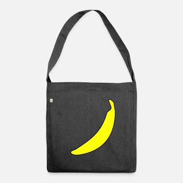 Banana banana banana banana banana banana banana - Shoulder Bag made from recycled material