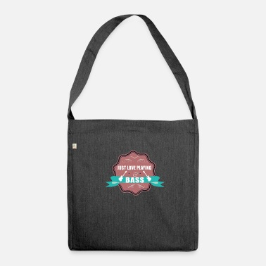 Bassist Bassist bassist - Shoulder Bag recycled