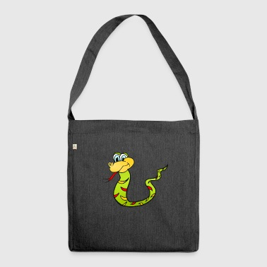 Snake Snake - Shoulder Bag made from recycled material