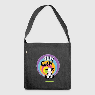 Silly cow - Shoulder Bag made from recycled material