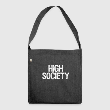 High Society - Schultertasche aus Recycling-Material