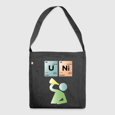 uni perio - Shoulder Bag made from recycled material