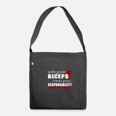 Biceps biceps - Shoulder Bag recycled