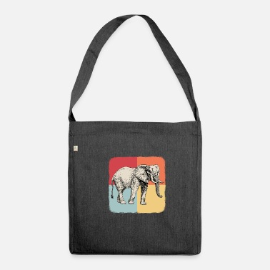 Pachyderm pachyderm - Shoulder Bag recycled
