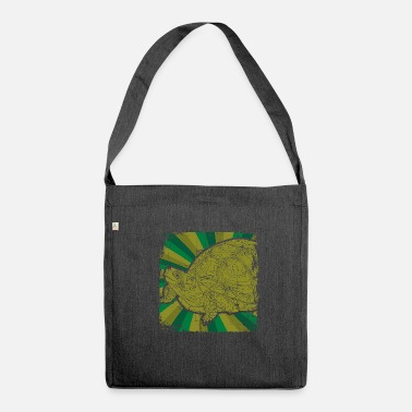 Animal Rights Activists Turtles Animal rights activists - Shoulder Bag made from recycled material