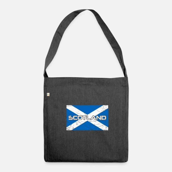Scotland Bags & Backpacks - Scotland - Shoulder Bag recycled heather black
