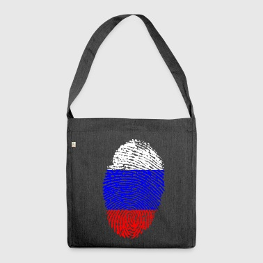 RUSSIA / RUSSIA - Shoulder Bag made from recycled material