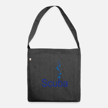 Scuba Scuba - Shoulder Bag made from recycled material