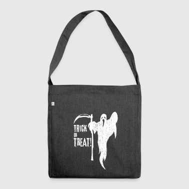 TRICK OR TREAT - Schultertasche aus Recycling-Material