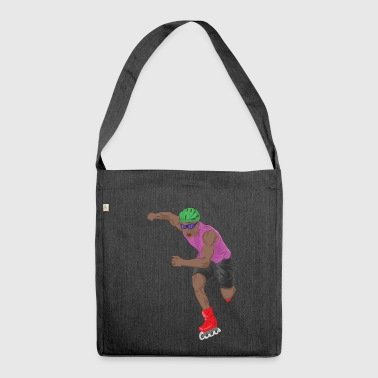 Skate Skating Roller Skating Inline Skates Sport - Shoulder Bag made from recycled material