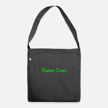 Game Over game over - Borsa in materiale riciclato