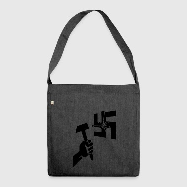 Nazi no Nazi - Shoulder Bag made from recycled material