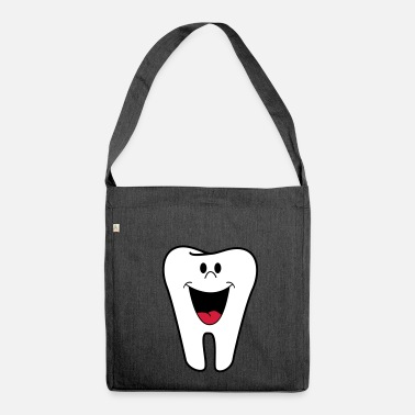 Tooth tooth - Shoulder Bag made from recycled material