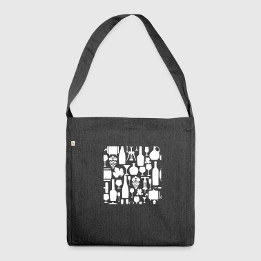 wine wine wine shop - Shoulder Bag made from recycled material
