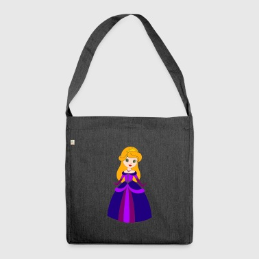 Prinzessin - Schultertasche aus Recycling-Material