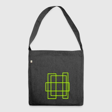 rectangles - Shoulder Bag made from recycled material