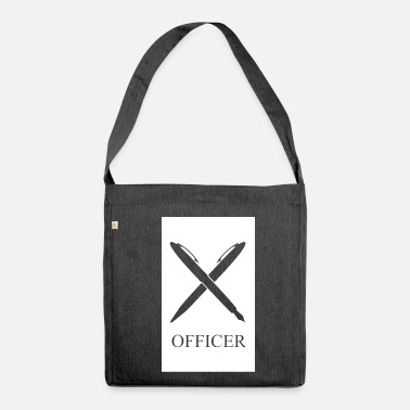 Office OFFICER - Shoulder Bag made from recycled material