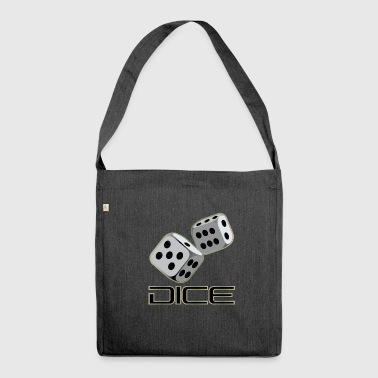 Dice DICE - DICE - Shoulder Bag made from recycled material