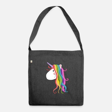 Unicorn Cute Unicorn - Unicorns - Unicorn - Unicorns - Shoulder Bag made from recycled material