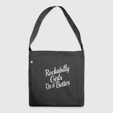 Rockabilly ROCKABILLY - Shoulder Bag made from recycled material