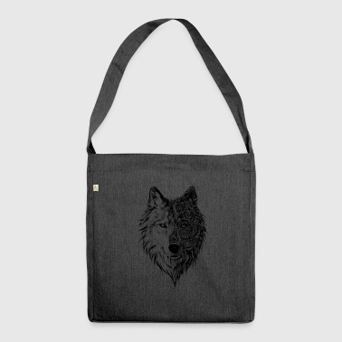 Wolf Wolf - Schultertasche aus Recycling-Material
