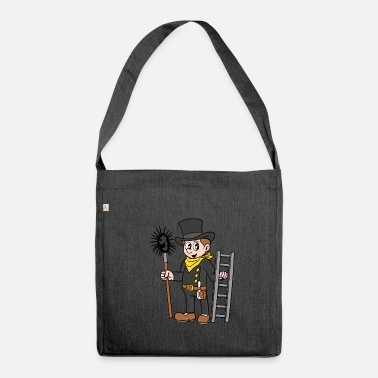 Chimney Sweep chimney sweeper - Shoulder Bag made from recycled material