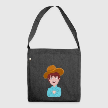 Cowboy - Schultertasche aus Recycling-Material