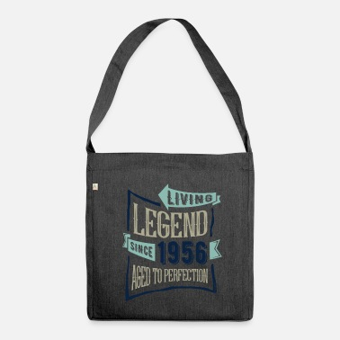 Since Living Legend Since 1956 - Borsa in materiale riciclato