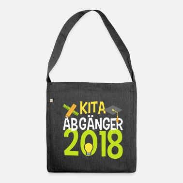 School KITA ABGÄNGER school child enrollment elementary school - Shoulder Bag recycled