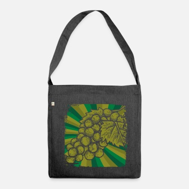 Winemaker Grapes winemaker wine - Shoulder Bag recycled