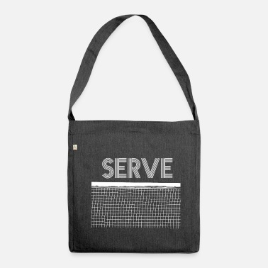 Serve serve - Shoulder Bag recycled