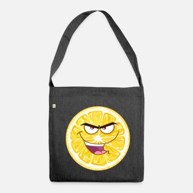 Cynical Lemon cynical - a great gift - Shoulder Bag made from recycled material