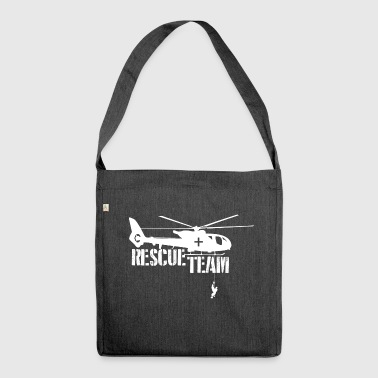 Rescue Rescue Shirt Rescue Team - Shoulder Bag made from recycled material