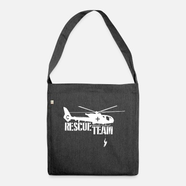 Rescue Rescue Shirt Rescue Team - Shoulder Bag recycled