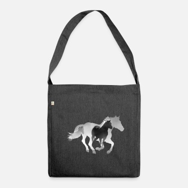 Gallop Horse gallop - Shoulder Bag made from recycled material