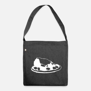Roast roast meat - Shoulder Bag made from recycled material