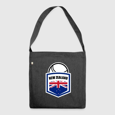 Fistball New Zealand Team World Cup Gift - Borsa in materiale riciclato