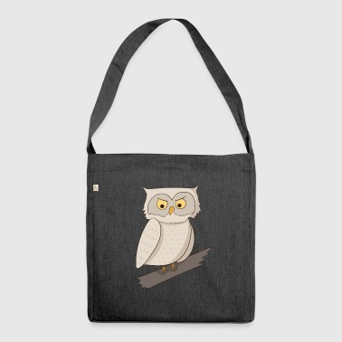 Owl owl owl - Shoulder Bag made from recycled material