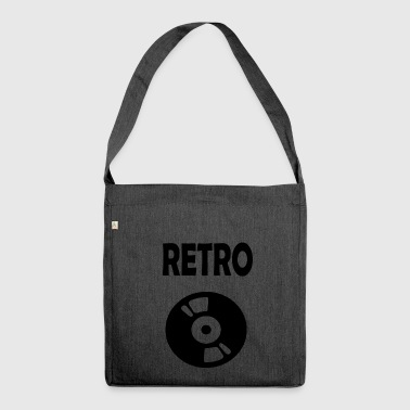 retrò - Borsa in materiale riciclato