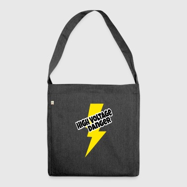 High voltage - Shoulder Bag made from recycled material