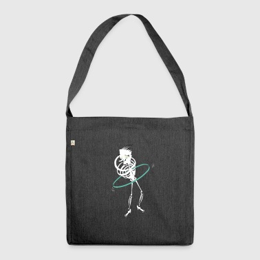 The Hula Hoop of Death - Shoulder Bag made from recycled material