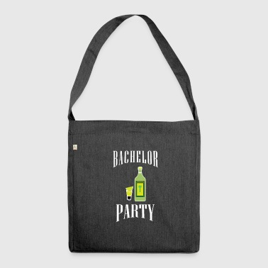 Bachelor party | Party celebration wedding - Shoulder Bag made from recycled material