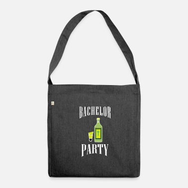 Wedding Party Bachelor party | Party celebration wedding - Shoulder Bag made from recycled material