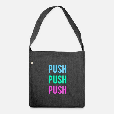 Push push - Shoulder Bag recycled