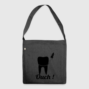 ouch blak - Shoulder Bag made from recycled material